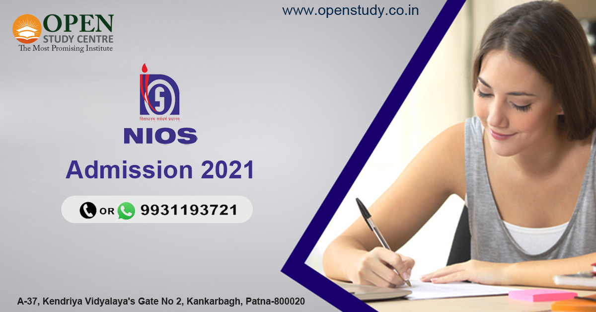 NIOS Admission 2021