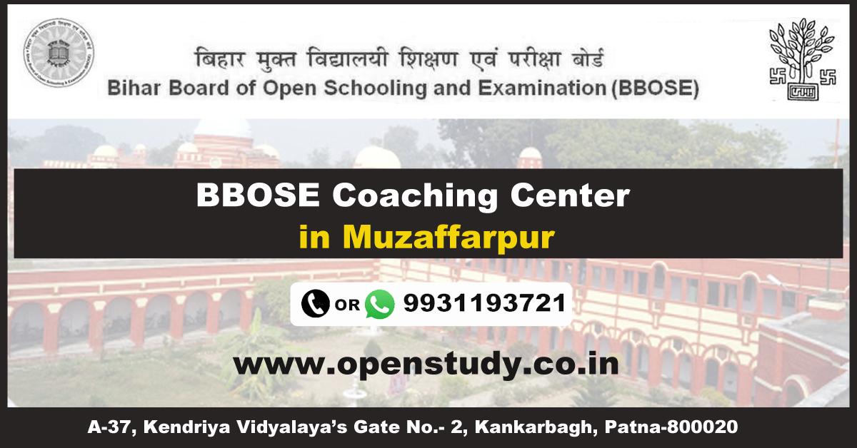 BBOSE Coaching Institute in Muzaffarpur 1
