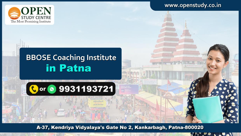 BBOSE Coaching Institute in Patna 1