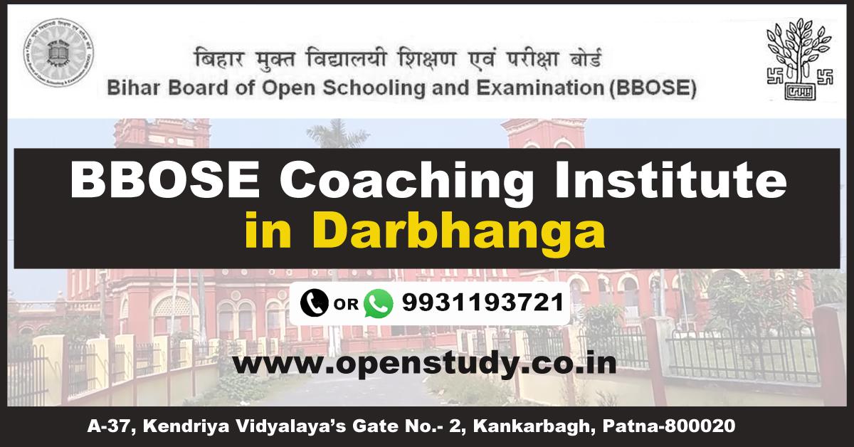 BBOSE Coaching Instiute in darbhanga