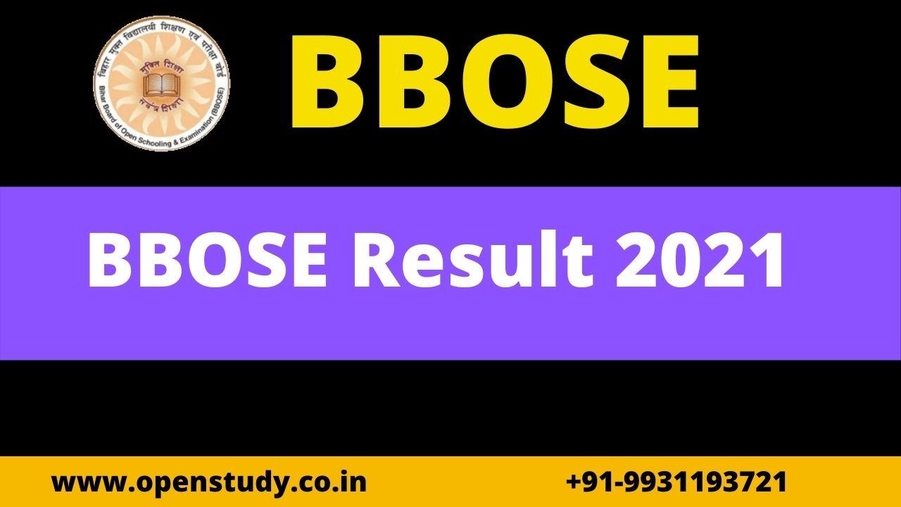 BBOSE Result 2021