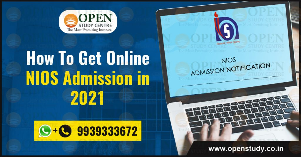 How To Get Online NIOS Admission In 2021