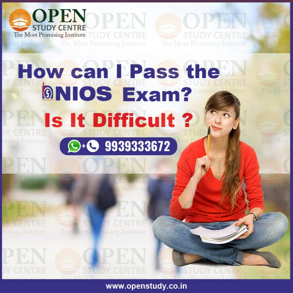 How Can I Pass The NIOS Exam? Is It Difficult? 1